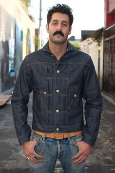 Mister Freedom Denim Ranch Jacket - $300.00 : Self Edge : Japanese Selvedge Denim