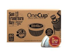 San Francisco Bay OneCup, Fog Chaser, 80 Single Serve Coffees *** See it now, it's a great product : Groceries