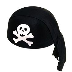 Deluxe Pirate Skull Cap