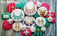 Jewelry Cookies | Cookie Connection