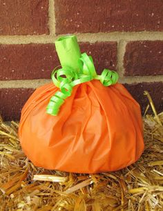 MBC: How to - make pumpkin treat bags!