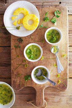 Golubka: Pineapple Cucumber Gazpacho