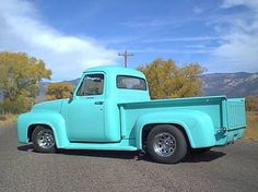 pictures of your interior 53 56 ford truck enthusiasts. Black Bedroom Furniture Sets. Home Design Ideas