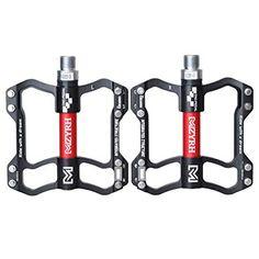 Free Agent Black Bicycle Pedals Nylon Lo-Profile Platform 9//16 MTB BMX Bike New
