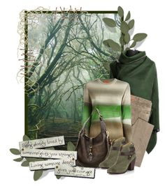 """""""misty forest"""" by sagramora ❤ liked on Polyvore featuring Faith Connexion, Missoni, Gucci and rag & bone"""