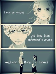 I can see his heart... but the question is can he see mine??
