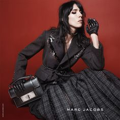 Jamie Bochert • Marc Jacobs Fall '15 campaign photographed by David Sims