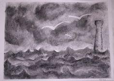 Metereologia : tempesta sul mare - classe 6a