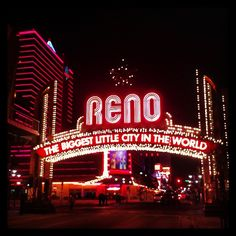 Down town Reno is a fun strip. Especially on New Year's Eve!   It is a must do at least once.