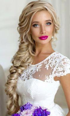 Peinado para novias | bodatotal.com | wedding, hairstyle, wedding ideas