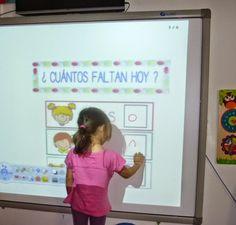 las nuevas tecnologías son un atractivo para los peques, lo que facilita la concentración en la tarea. Little Children, College Classes, Classroom Management, Preschool Activities, Montessori, Frame, Home Decor, Class Room, Infants