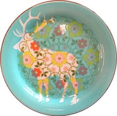 Ceramic Artist Sarah Cihat! I love her work! This plate is from her series called rehabilitated dish ware