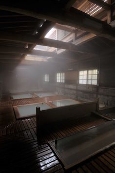 Shikanoyu hot spring in Nasuyumoto, Japan. One of our favorites, hand down. Architecture Design, Japanese Architecture, Japanese Hot Springs, Japanese House, Japanese Style, Japanese Culture, Japan Travel, Beautiful Places, Gq Japan