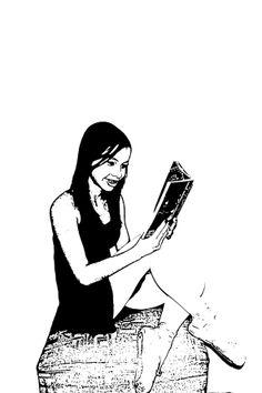 MUNDO DOS LIVROS. No mundo dos livros, /  Ora sou princesa, ora sou plebeia, / Posso ser a principal, ou apenas plateia. / Com uma simples frase alguém morre,  /  Ou nasce. / Algo surge, ou desaparece. / É criado um mundo novo, onde tudo é possível, basta apenas... /  imaginar. Lara Soares - 1001