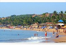 Visit Goa's Crystal Clear Beaches.