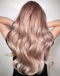 Hair, pink blonde hair, blond rose, pink ombre hair, hair color p Pink Blonde Hair, Pastel Pink Hair, Brown Ombre Hair, Hair Color Pink, Bright Hair, Pastel Yellow, Pastel Goth, Purple Hair, Cabelo Rose Gold