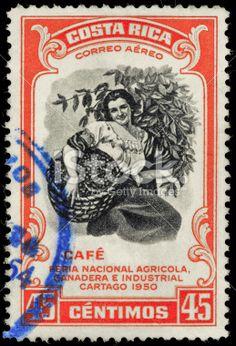Estampilla - Costa Rica / Costa rica postal stamp