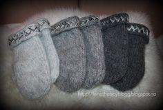 Lenashobbyblogg: Strikkaklær Lovikkavotter Gloves, Slippers, Fashion, Moda, Fashion Styles, Slipper, Fasion, Mittens, Flip Flops