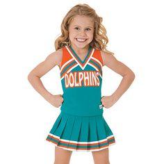 Cheerleader wearing a Value Package uniform