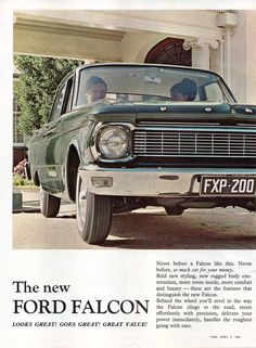 https://flic.kr/p/UwChPy | 1965 Ford XP Falcon Galaxie 500 Cortina Page 2 Aussie Original Magazine Advertisement | EPSON scanner image