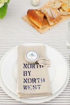 personalized napkin - photo via Tec Petaja
