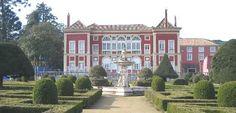Palacio Fronteira e jardins