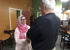 Moina is doing big things to educate non-Muslims about Islam.   She started when she realized that even her friends didn't know anything about Islam.