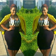 I soooo need this, totally cute combo #outfits  plus size