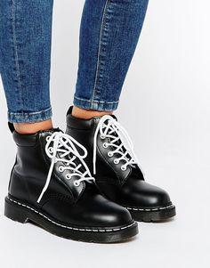 Изображение 1 из Черные ботинки с 6 парами люверсов Dr Martens 939