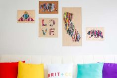 DIY Dorm Room Decor Ideas - Upcycle Old Magazines Into Wall Art - Cheap DIY Dorm Decor Projects for College Rooms - Cool Crafts, Wall Art, Easy Organization for Girls - Fun DYI Tutorials for Teens and College Students http://diyprojectsforteens.com/diy-dorm-room-decor