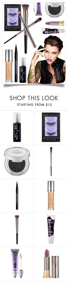 """""""Urban Decay"""" by tina-pieterse ❤ liked on Polyvore featuring beauty and Urban Decay"""
