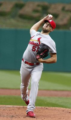 Michael Wacha of the St. Louis Cardinals pitches in the first inning against the Pittsburgh Pirates. Cardinals Team, Cardinals Baseball, Arizona Cardinals, St Louis Cardinals, Baseball 2016, Better Baseball, Yadier Molina, Best Fan, Pittsburgh Pirates