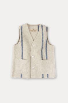 nest robe wool vest