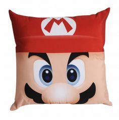 Almofada Mario Bros - 40 x 40 cm
