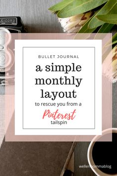 Intimidated by Pinterest layouts for your bullet journal?  Here is a simple and straight-forward monthly layout that is a breeze to create and a workhorse for you.  Comes with exact measurements and essential ideas you need to create a quick and simple layout right now.