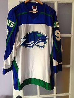 2988ef7df Eagan Wildcats High School Varsity Hockey Jersey Men s XL White  9 Minnesota