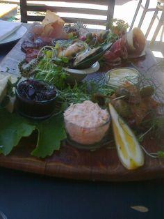 Platter from Giesens winery  Marlborough
