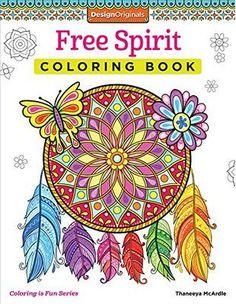 Free Spirit Coloring Book Is Fun