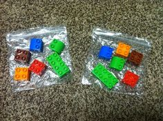 A lesson in following directions using Legos. Great for family therapy to assess communication.