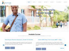 Advantage Learn, an online learning site for South Africans (and people further afield) powered by WooCommerce and Sensei Online Learning Sites, Online Courses, Beautiful Sites, End Of Year, Africans, Men Casual, Science, Education, People