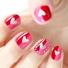 Valentine's Day Be Mine Nasty Nails