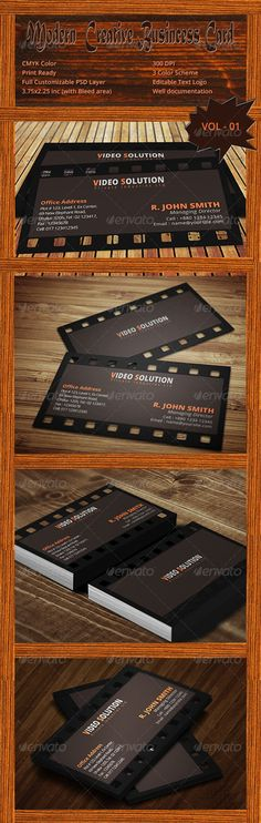 Modern Creative Business Card Vol - 01  #GraphicRiver        Design Details  » Dimension – 3.5 inch X 2 inch  » Bleed – 0.25 inch  » Print Ready  » Resolution optimized (300dpi) » CMYK Color  » Unique Design  » Editable Text Logo  » Fully Customizable Layered PSD  » Well Arranged Layer  » read me.txt File For Documentation    Font Used  » Open Sans (Free Font) also available in at Google web fonts library   Files Included  » 2 Photoshop (PSD) file ( front.psd & back.psd )  » read me.txt…