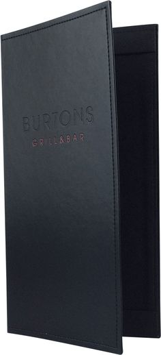 Create an attractive arrangement of your menu items with menu covers from Menu Designs. We have a large selection of menu covers made from the finest materials. Whether you're a café interested in menu boards or a five star dining establishment who's looking for leather menu covers, we're sure you'll find the perfect menu covers for your restaurant.