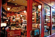 Shop front, Paris, France