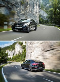 The new Mercedes-AMG GLC 43 4MATIC Coupé: unique combination of agility, elegance and everyday practicality. [Combined fuel consumption: 8.4 l/100 km | Combined CO2 emissions: 192 g/km | http://mb4.me/efficiency_statement]