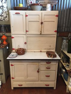 google images of vintage hoosier cabinet - Google Search