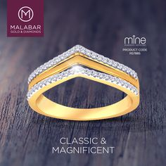 This mine diamond ring gives a look of royalty and magnificence to the wearer.