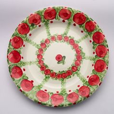 usaid Decorative Plates, Tableware, Design, Home Decor, Red, Green, Tablewares, Dinnerware, Decoration Home