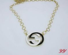 Gucci Necklace-022 Cheap Gucci, Washer Necklace, Pendant Necklace, Valentine Day Gifts, Chanel, Stuff To Buy, Jewelry, Jewlery, Jewerly