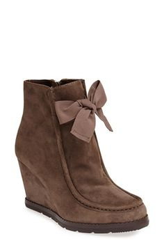 kate spade new york 'saunder' wedge bootie (Women) available at #Nordstrom ♡ed by LadyXeona.com